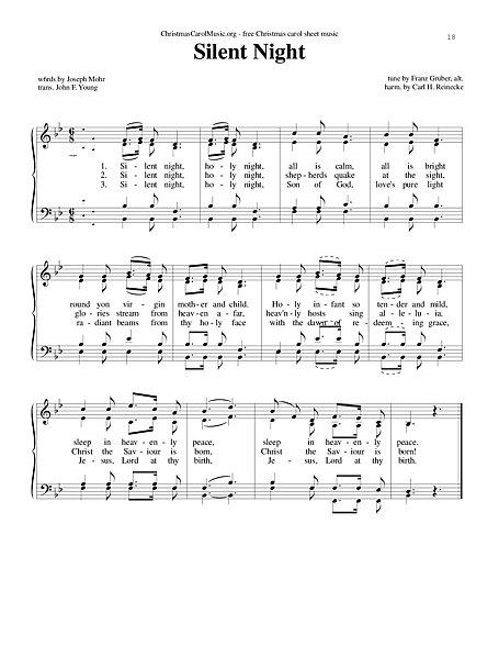 行的传统圣诞颂歌